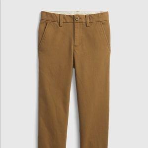 Gap Kids Boys Khaki Brown Chinos Size 10